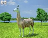 Llama (Lama Glama) 3D Model