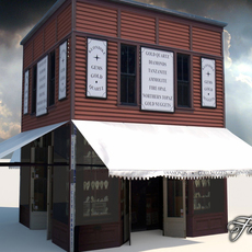 Buildings collection 2 3D Model