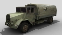 Shaktiman Truck FOR GAMES 3D Model