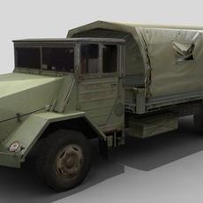 Shaktiman Truck FOR GAMES 3D Model