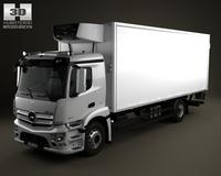 Mercedes-Benz Antos Box Truck 2012 3D Model