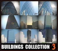 Buildings collection 3 3D Model
