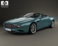 Aston Martin DB9 Spyder Zagato Centennial 2014 3D Model