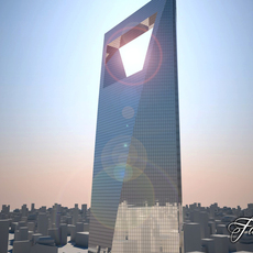 Buildin 28 Shangai WFC 3D Model
