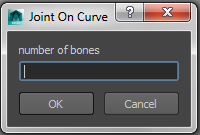 Joints on curve 1.0.0 for Maya (maya script)