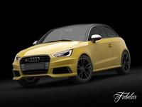 Audi S1 Sportback Std Mat 3D Model