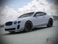 Bentley Continental SS std mat 3D Model
