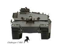 Challenger I Mk.1 3D Model