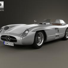 Mercedes-Benz 300 SLR 1955 3D Model