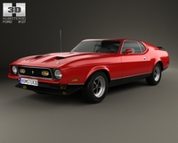 Ford Mustang Mach 1 1971 3D Model