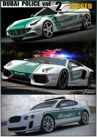 DUBAI Police vol.2 3D Model