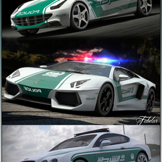 DUBAI Police vol.2 3D Model