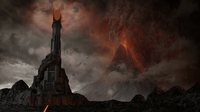 Dark Tower of Barad-Dur 3D Model