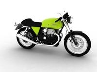 Moto Guzzi V7 Café Classic 2010 3D Model