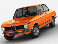 BMW 2002 tii 3D Model