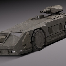 M577 Armored Personel Carrier APC 3D Model