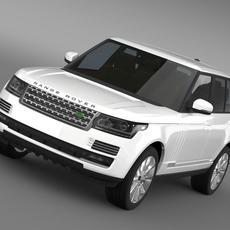 Range Rover Supercharged L405 3D Model