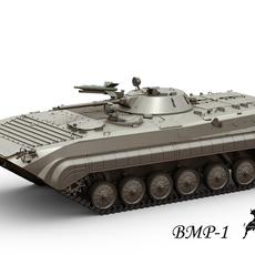 BMP-1 IFV 3D Model