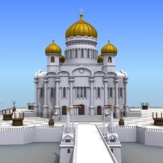 Islamic Buildings 3D Model