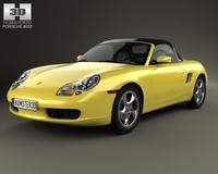 Porsche Boxster 986 1996 3D Model