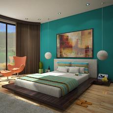 Bedroom 1 3D Model
