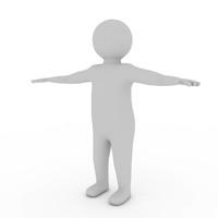 Dummy Man 3D Model