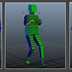 Box Creatures for Maya 1.0.0