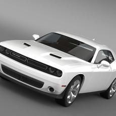 Dodge Challenger SXT LC 2015 3D Model