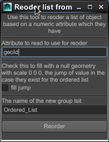 Free Reorder List of Geo Based on Attribute for Maya 0.1.0 (maya script)