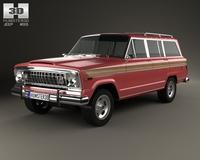 Jeep Wagoneer 1978 3D Model