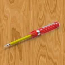 Screwdriver 3D Model