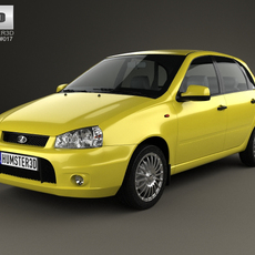 Lada Kalina (1119) hatchback Sport 2011 3D Model