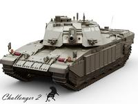 Challenger 2 3D Model