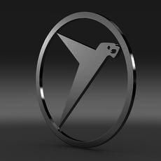 Messerschmitt logo 3D Model