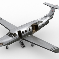 Pilatus PC-12 NG 3D Model