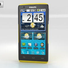 Philips Xenium W6500 3D Model