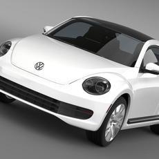 Volkswagen Maggiolino 3D Model