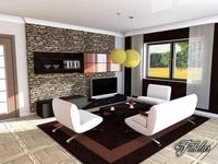 Living room 04 3D Model