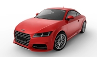 Audi TT 2015 3D Model