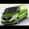 Renault Trafic 2015 panel van 3D Model