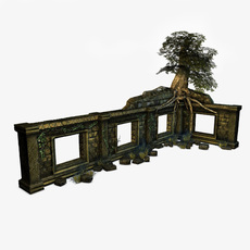 Jungle Ruins 3D Model