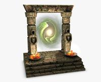 Portal Gate 3D Model
