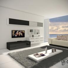 Living room 12 3D Model
