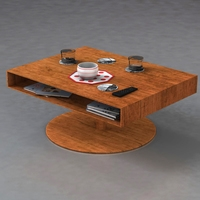 Room table 3D Model