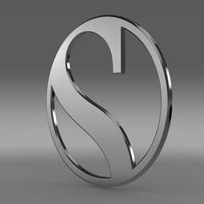 Sauber logo 3D Model