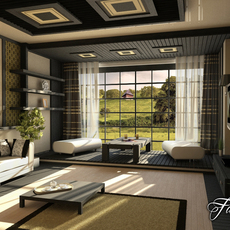 Living room 13 3D Model