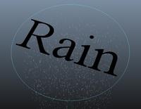 Free Rain Tool for Maya 1.0.0