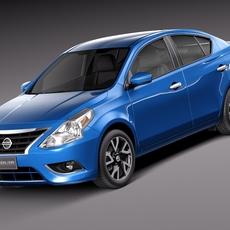 Nissan Versa Sedan 2015 3D Model