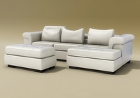 domino II sofa 3D Model