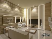 Living room 14 3D Model